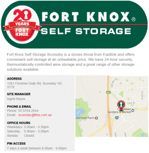 Fort Knox Scoresby