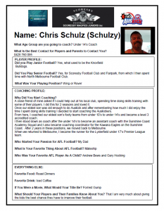 Schulzy Coaching Profile